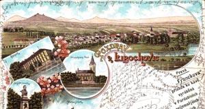 Libochovice a Házmburk na pohlednicích